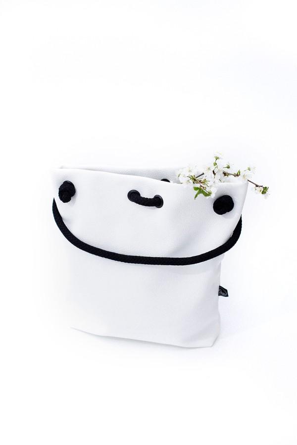 CLASSIC WHITE BAG-BACKPACK