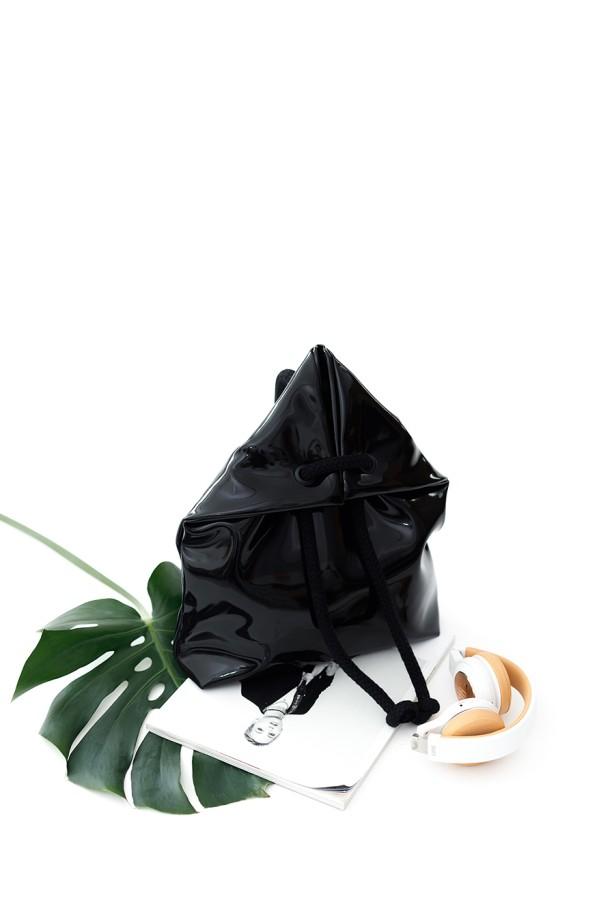 LACK BLACK BAG-BACKPACK