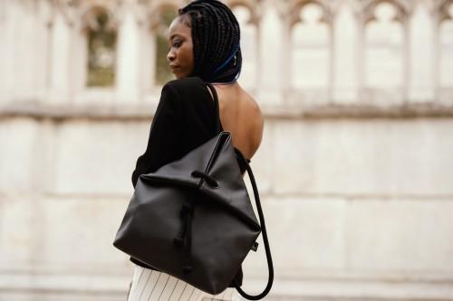 CLASSIC BLACK BAG-BACKPACK