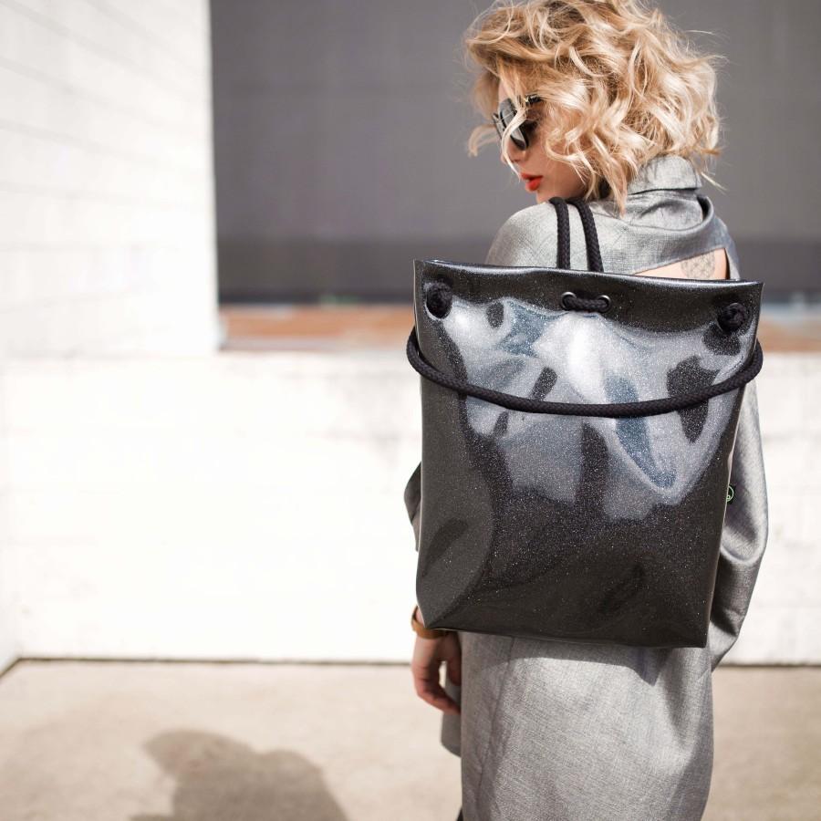 COSMO BLACK BAG-BACKPACK
