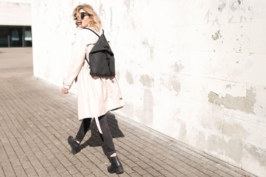 RAJA BLACK BAG-BACKPACK