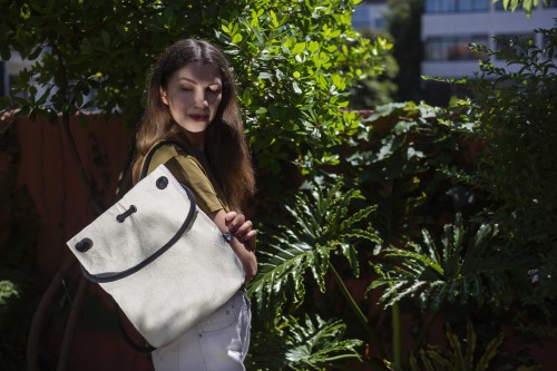 ANANAS NATURAL BAG-BACKPACK M size